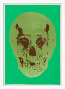 Till Death Do Us Part - Viridian - Leaf Green Chocolate Skull