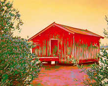 red paradise house